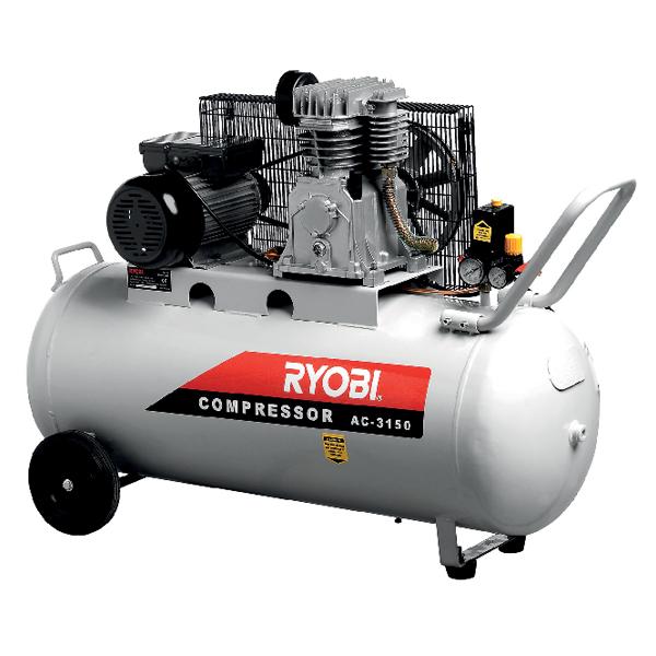 AIR COMPRESSOR 150L 2,200W 3,0HP AC-3150 – RYOBI Africa