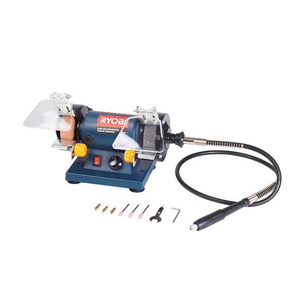Incredible Bench Grinder 120W Multi Purpose With Flexible Shaft Bg 120 Caraccident5 Cool Chair Designs And Ideas Caraccident5Info